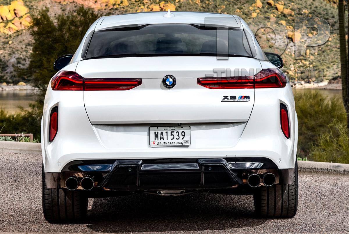 ДООСНАЩЕНИЕ БМВ Х6 КАРБОНОВЫЙ СПОЙЛЕР НА КРЫШКУ БАГАЖНИКА BMW  X6 G06 ОРИГИНАЛ / АРТ. 51628084171