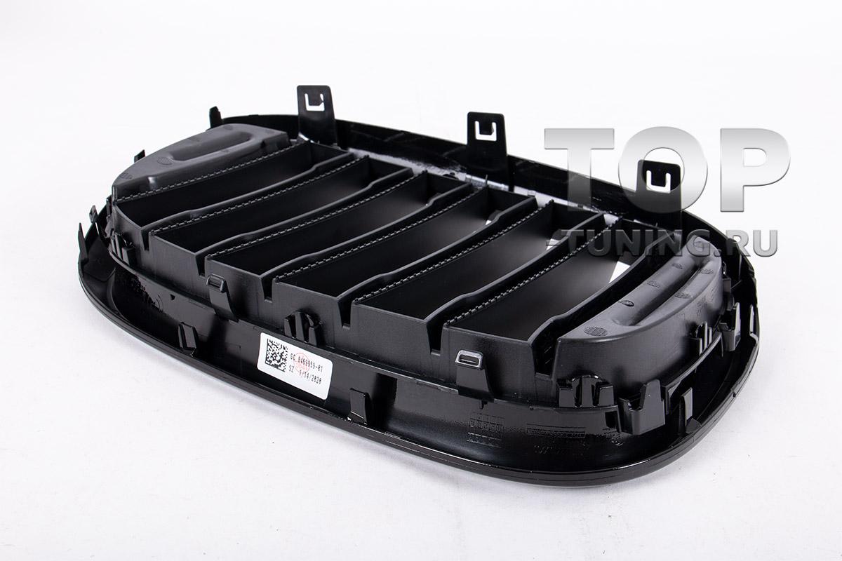 10285 Черная решетка радиатора для BMW X3 G01 / X4 G02