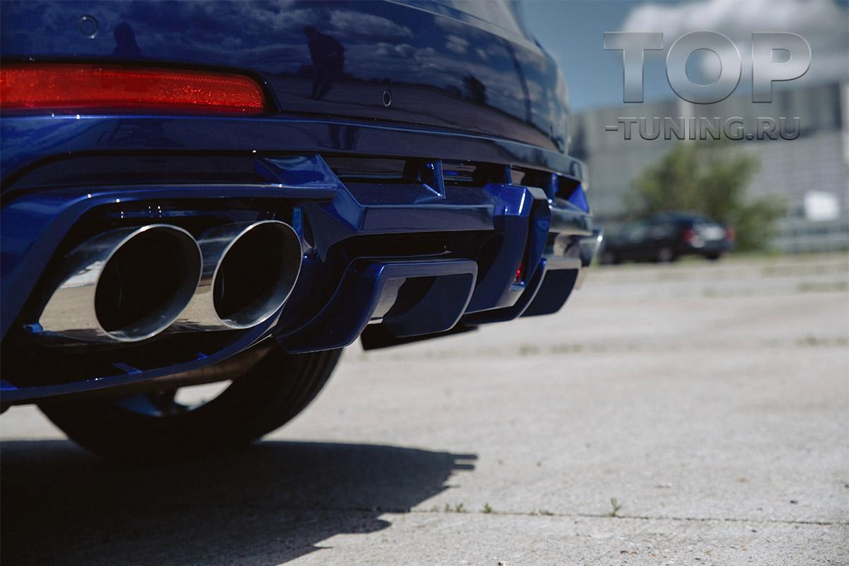 10289 Диффузор Renegade для заднего бампера Maserati Levante