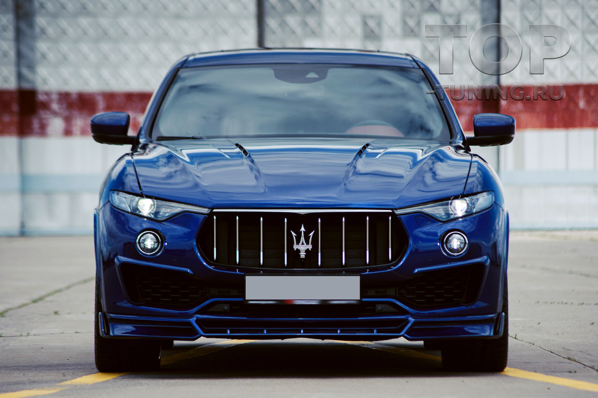 10292 Капот Renegade с жабрами для Maserati Levante
