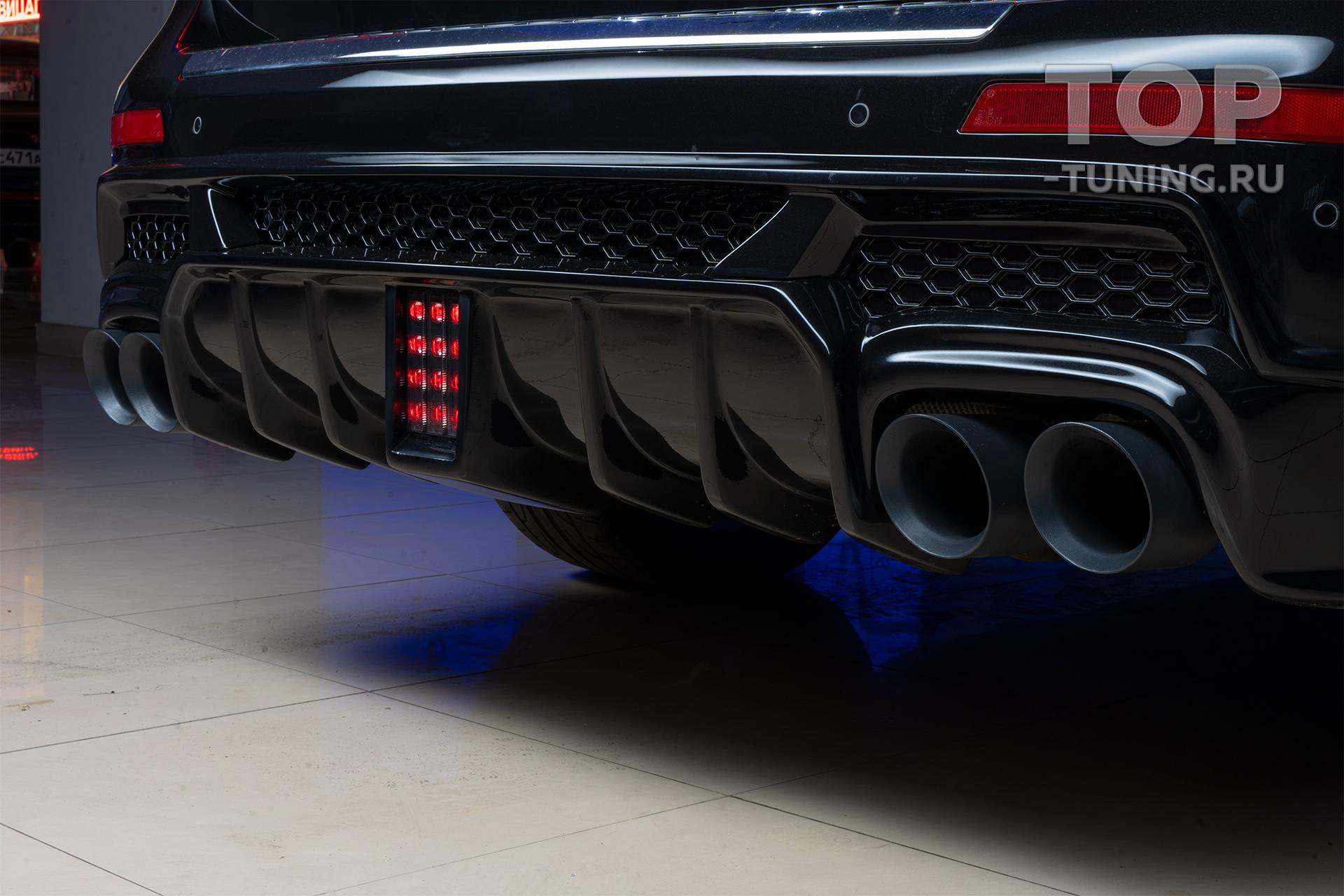 Задний бампер с диффузором - Обвес Renegade - Тюнинг GL X166