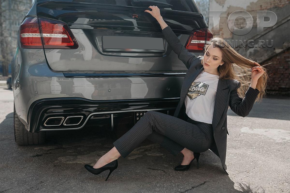 10301 Спойлер нижний Renegade для Mercedes GL X166