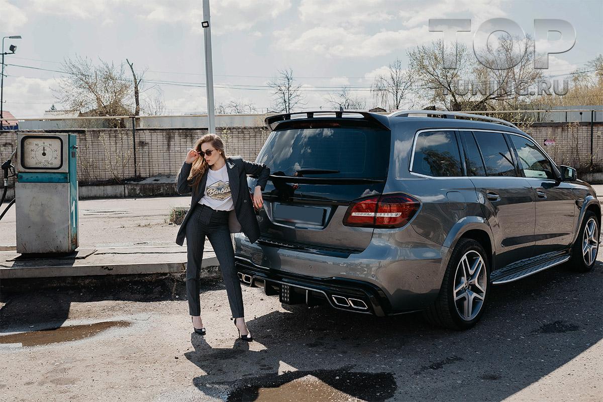 10310 Обвес Renegade для Mercedes GLS X166