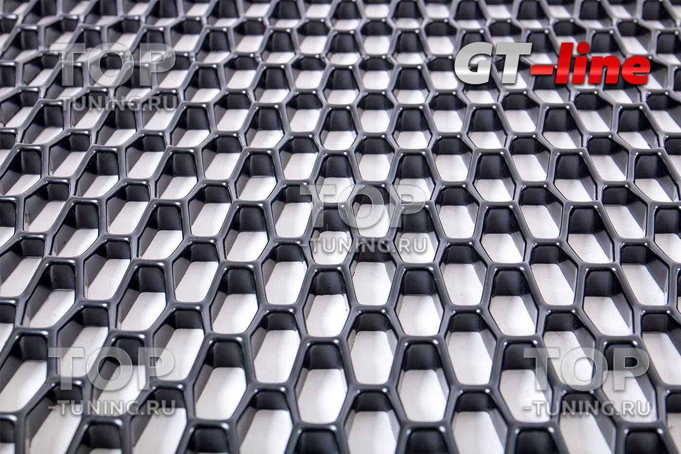 10493 Тюнинг сетка GT-Line 120 x 55 см в бампер или решетку радиатора