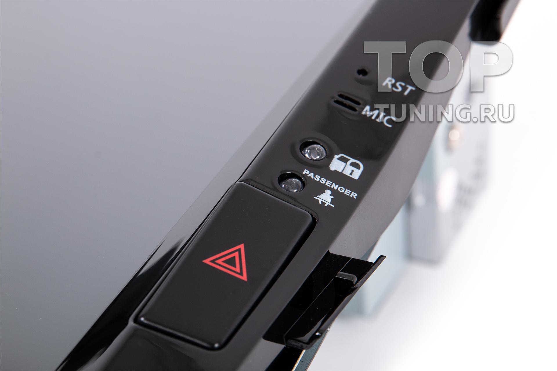 Фирменная магнитола Тесла стиль для тюнинга Тойота Ленд Крузер 200 - купить с установкой