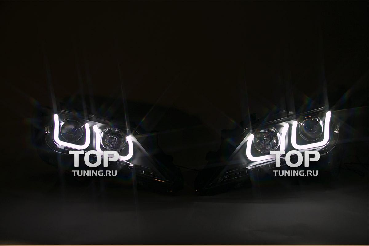 1126 Передние светодиодные фары Type 2 на Toyota Camry V50 (7)