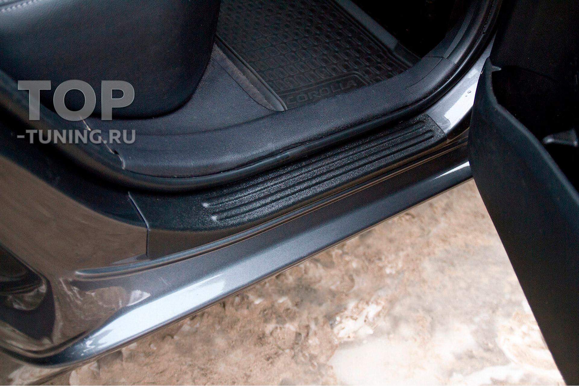 11598 Накладки Bastion на внутренние пороги для Toyota Corolla E160