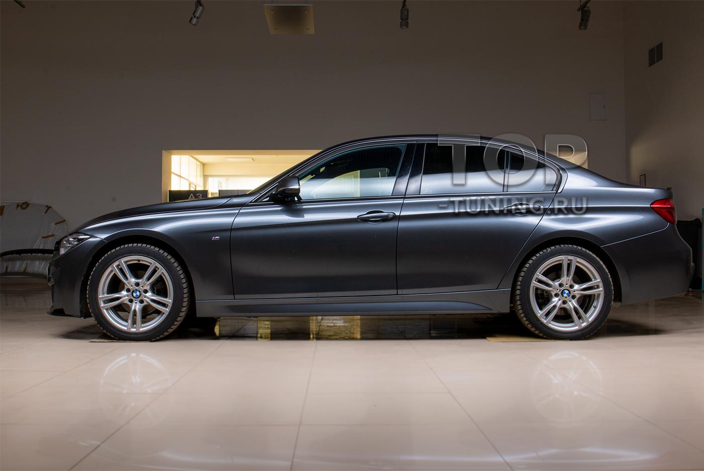 Установка элерона для бампера М3 стиль BMW 3 F30 в Топ Тюнинг