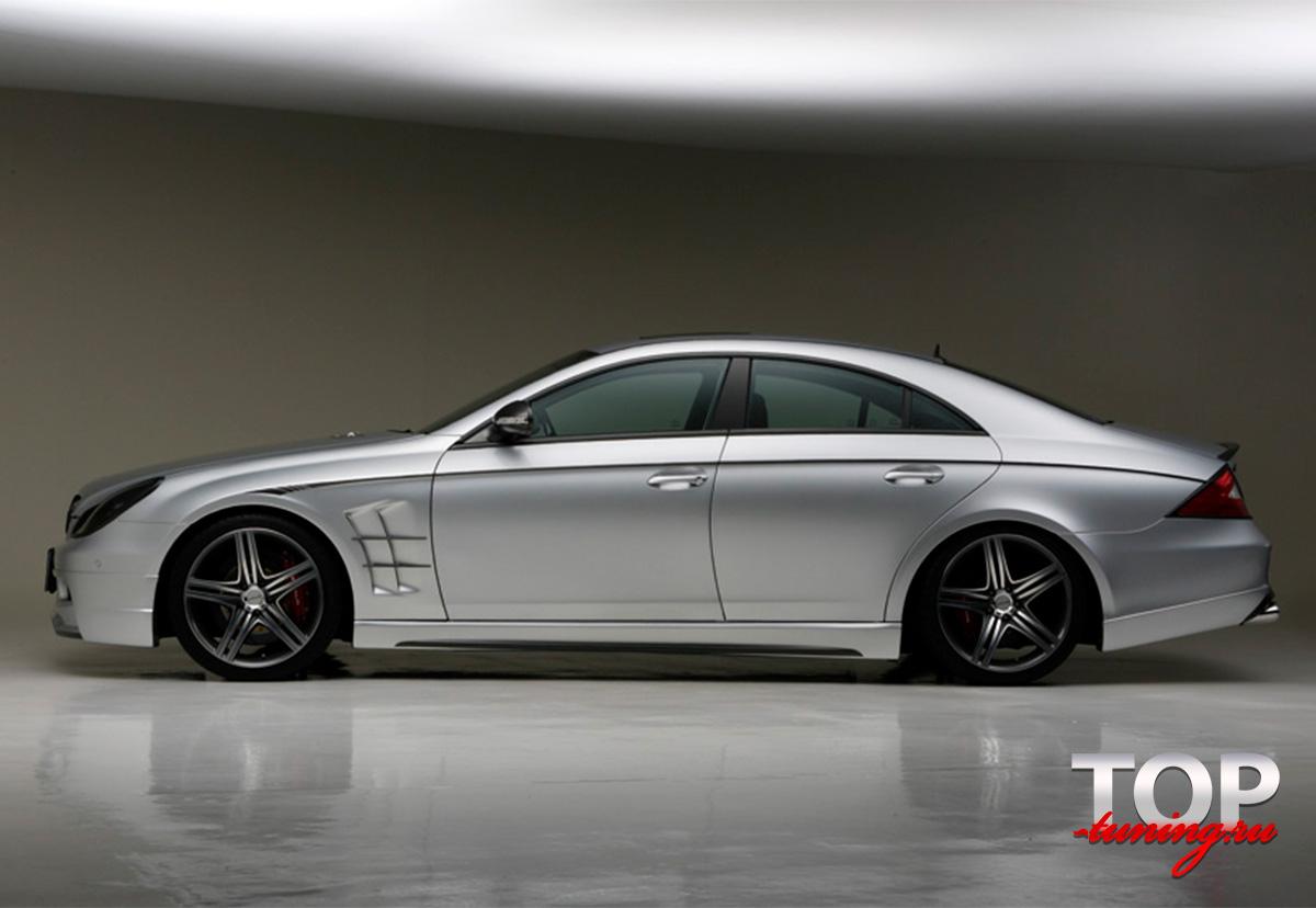 1271 Крылья передние WALD на Mercedes CLS W219