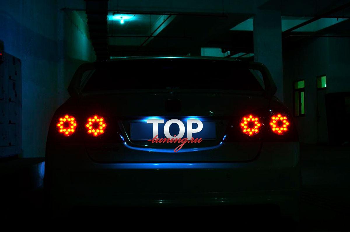 1278 Задние светодиодные тюнинг-фонари Eagle Eyes FX Smoked на Honda Civic 4D (8)