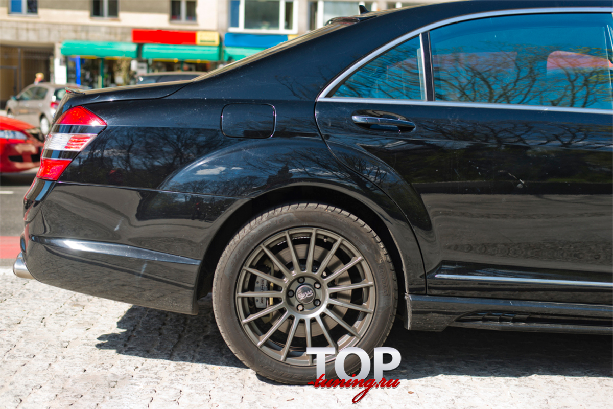 1351 Комплект - обвес WALD Black Bison на Mercedes S-Class W221