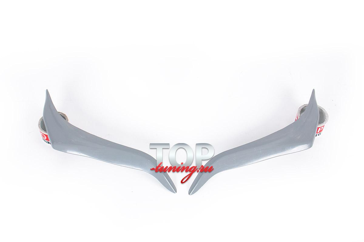 1461 Реснички передней оптики Jaos на Toyota Land Cruiser Prado 150