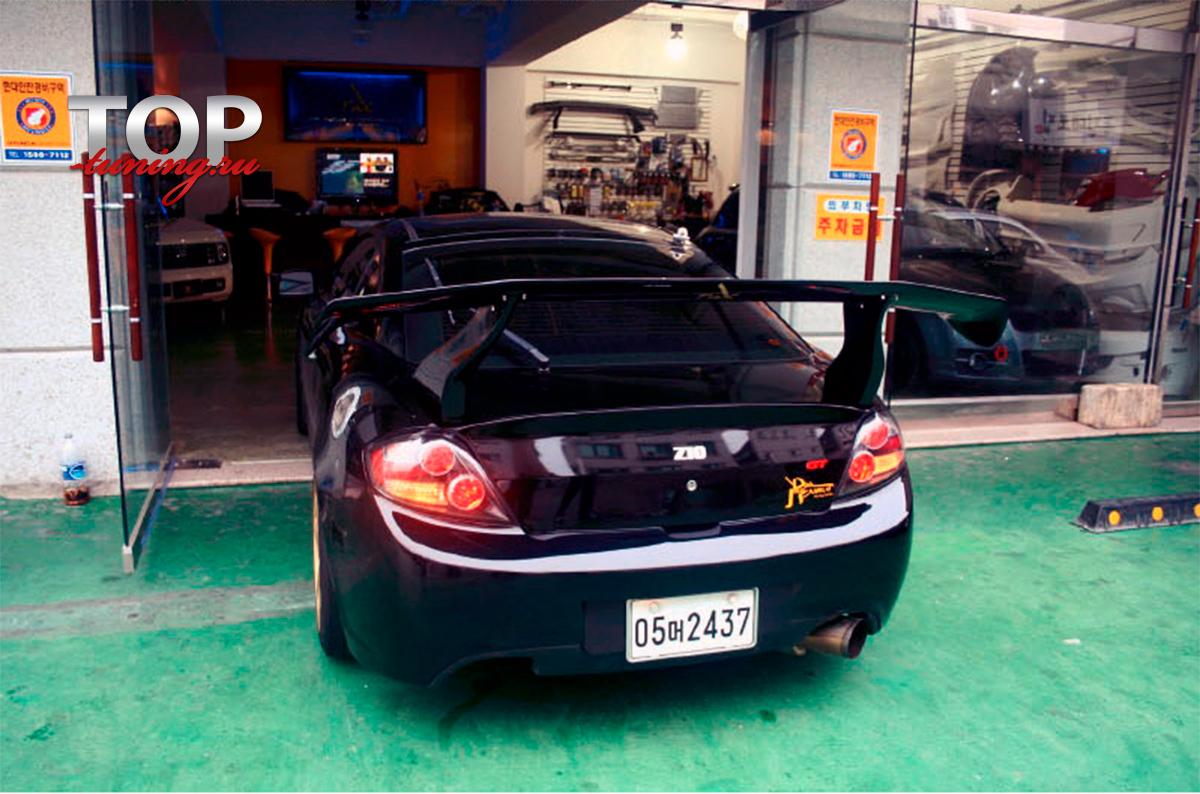 15 Спойлер - антикрыло Top-Tuning Big Mad на Hyundai Tiburon Coupe GK