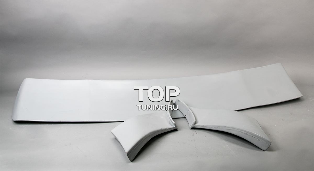 Трехсоставной спойлер крышки багажника Big Mad - Тюнинг Хендай Купе (ТИБУРОН).