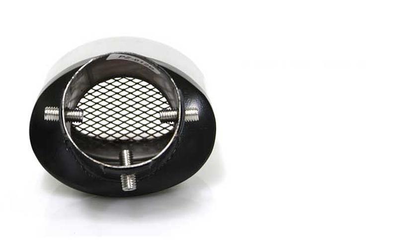 Насадка на глушитель вход 58 мм скошенная форма Puzzle
