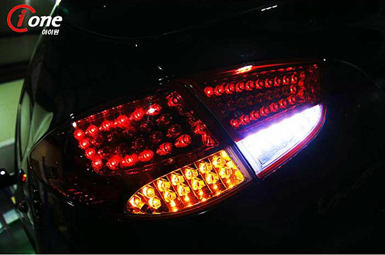 "LED-модули задних поворотов  ""T "" - Hyundai Tucson iX 35 (IONE) ."