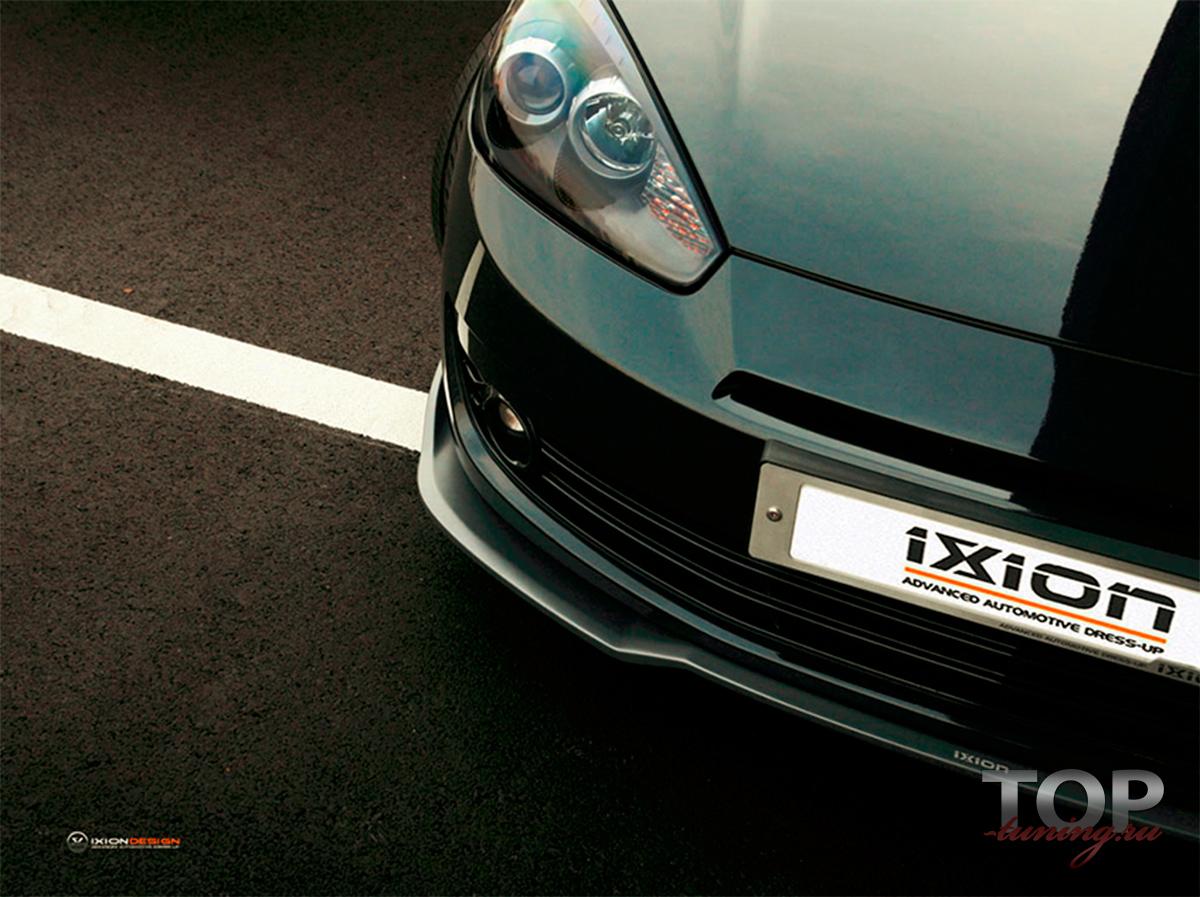 22 Элерон переднего бампера IXION на Hyundai Tiburon Coupe GK
