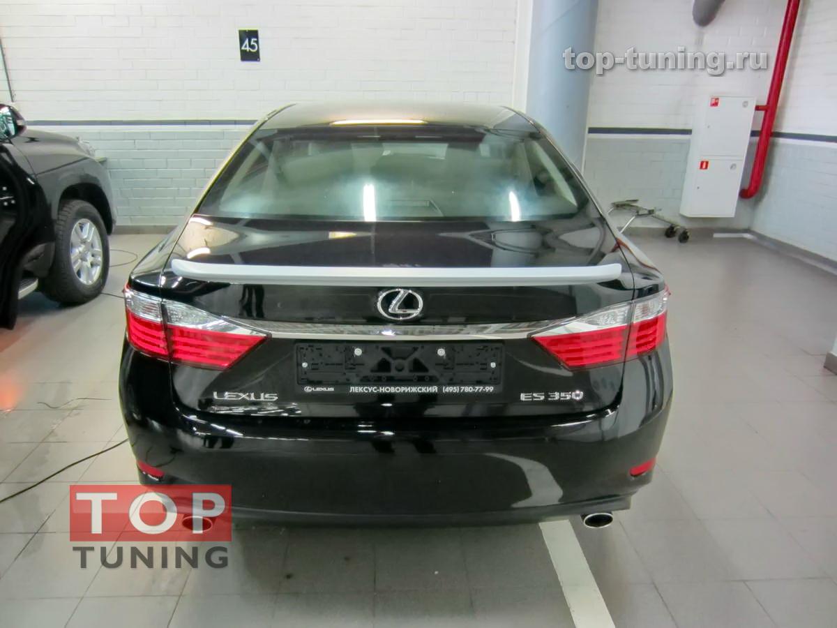 Спойлер на крышку багажника TRD style на Lexus ES 6