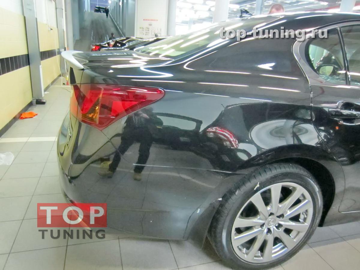Спойлер TRD-Style на крышку багажника Lexus GS - 4 поколения. Новый кузов.