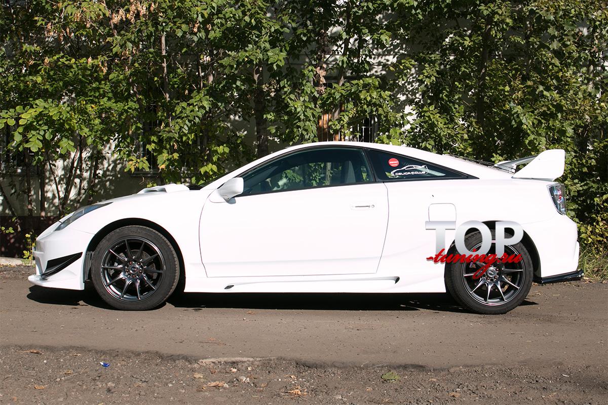 4020 Пороги - Обвес Varis Arising 3 на Toyota Celica T23