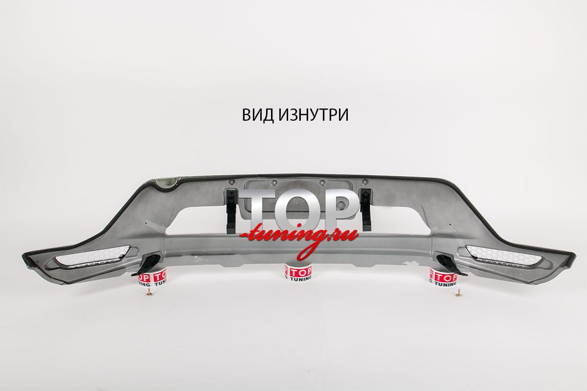 4047 Накладка на передний бампер Guardian на Mazda CX-5 1 поколение