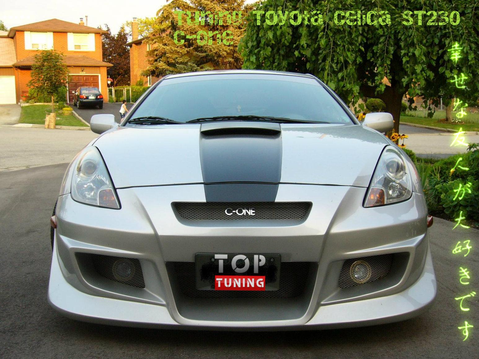 обвесы для Toyota Celica t23 #6