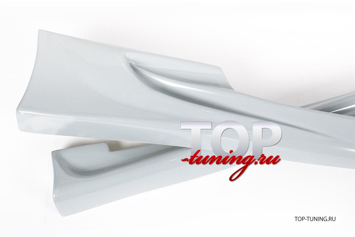 4188 Накладки на пороги - Обвес Auto-R Cyber на Hyundai Tiburon Coupe RD