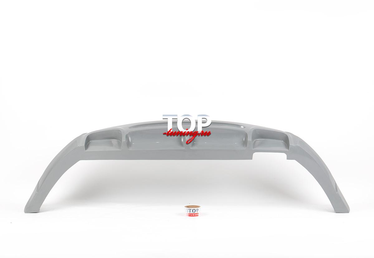 4373 Накладка на задний бампер JSW на Kia Sportage 3 (III)