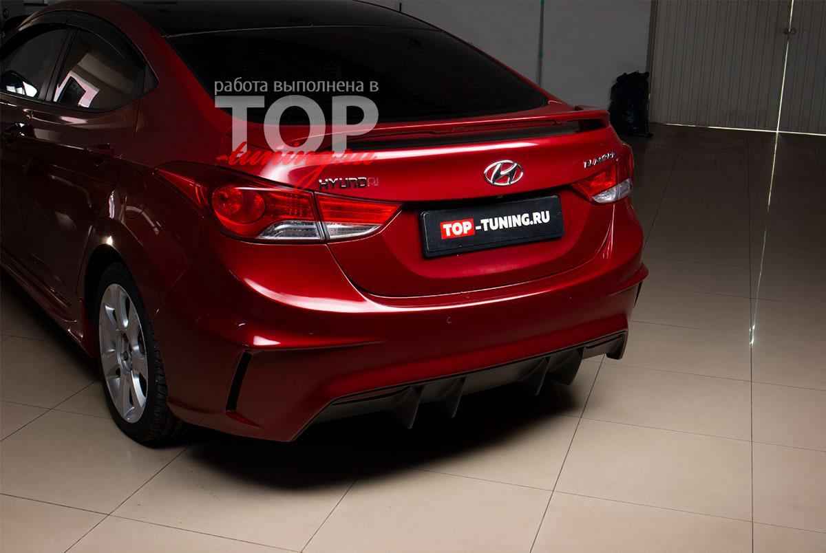 4455 Тюнинг - Обвес M&S Trial на Hyundai Elantra 5 (Avante MD)