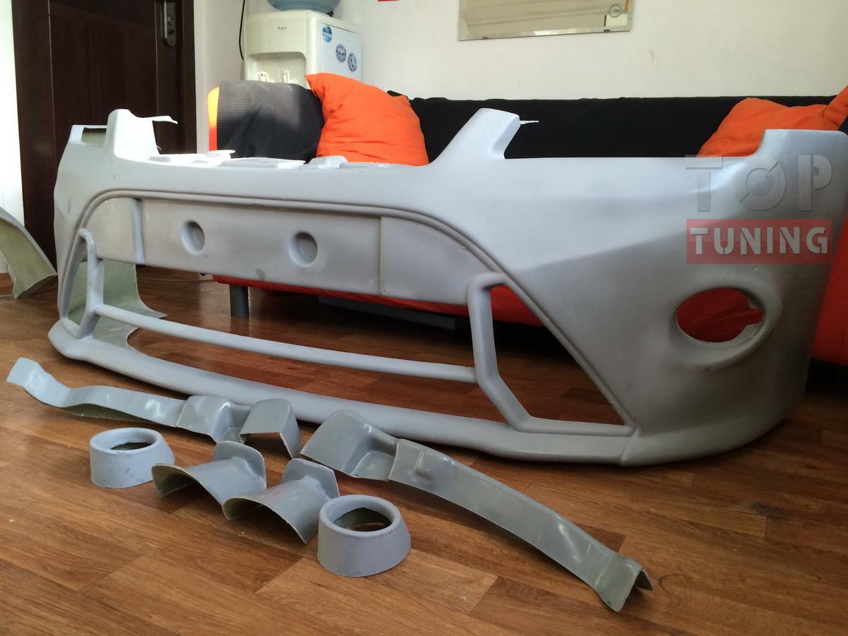 Решётка в передний бампер (cabriolet) для Форд Фокус ...