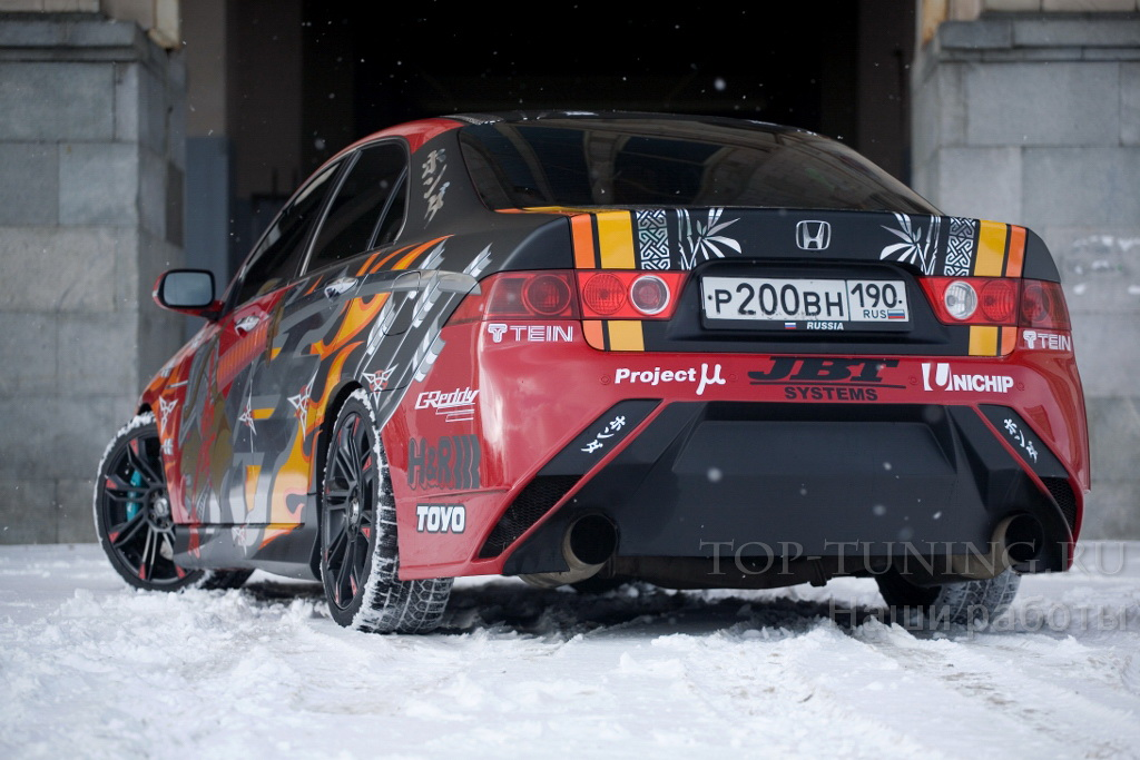 451 Задний бампер - Обвес Auto-R на Honda Accord 7