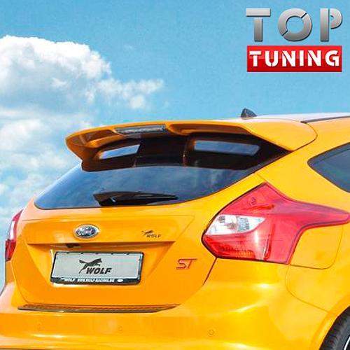 4513 Тюнинг - Спойлер ST Sport дорестайлинг на Ford Focus 3