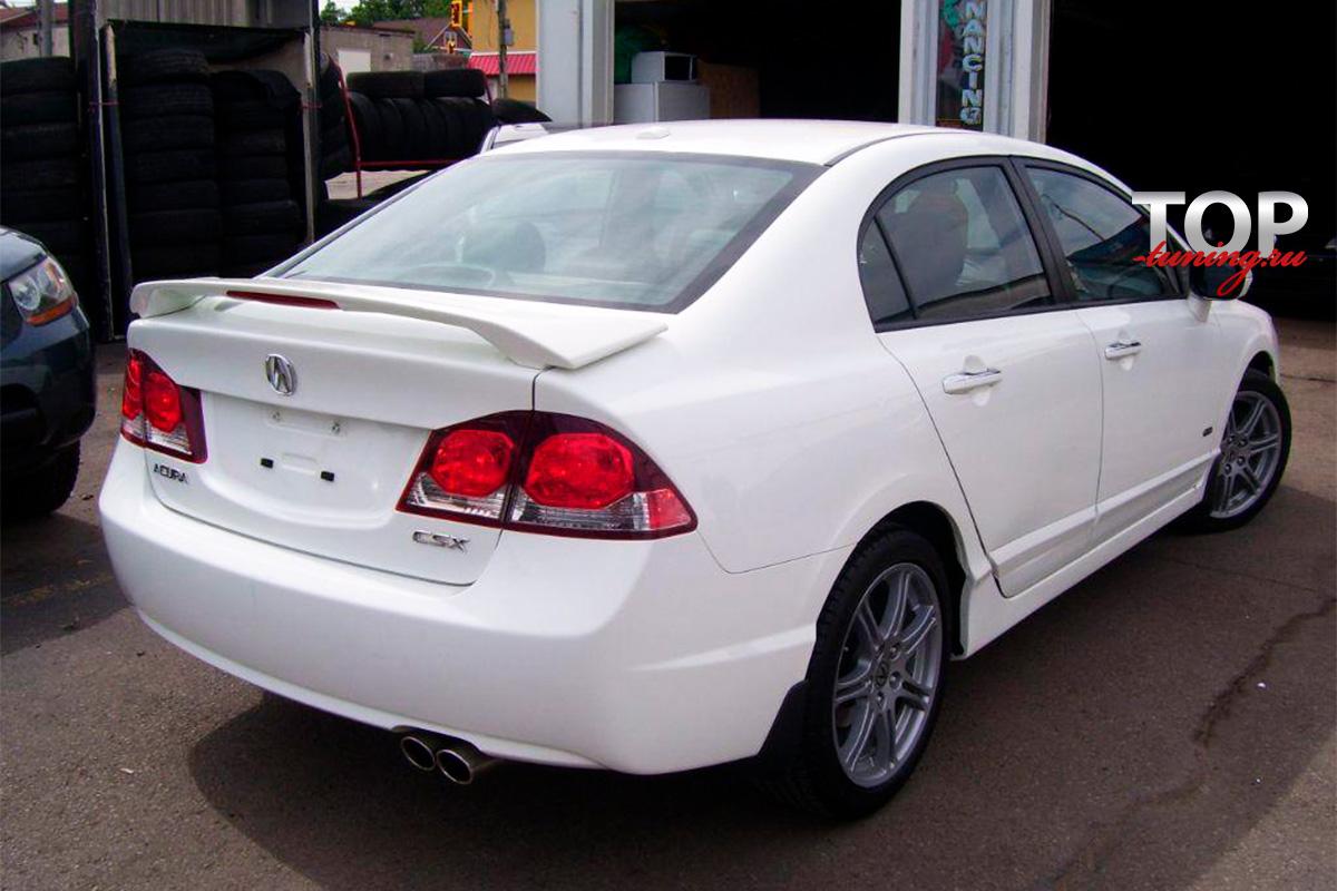4551 Тюнинг - Спойлер Modulo на Honda Civic 4D (8)