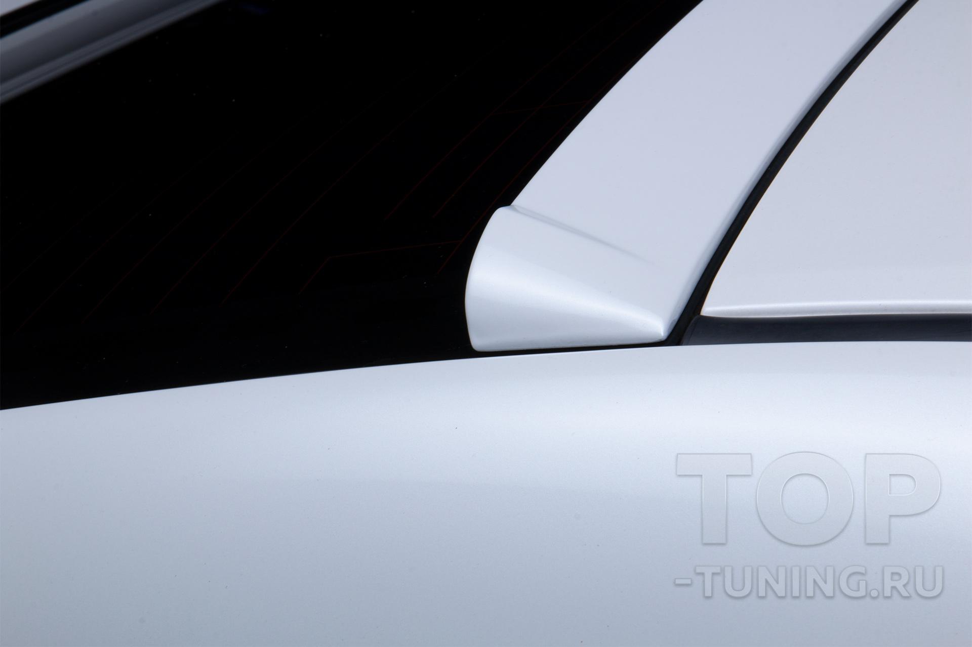 Тюнинг Хонда Аккорд 8 - накладка на стекло, козырек крыши