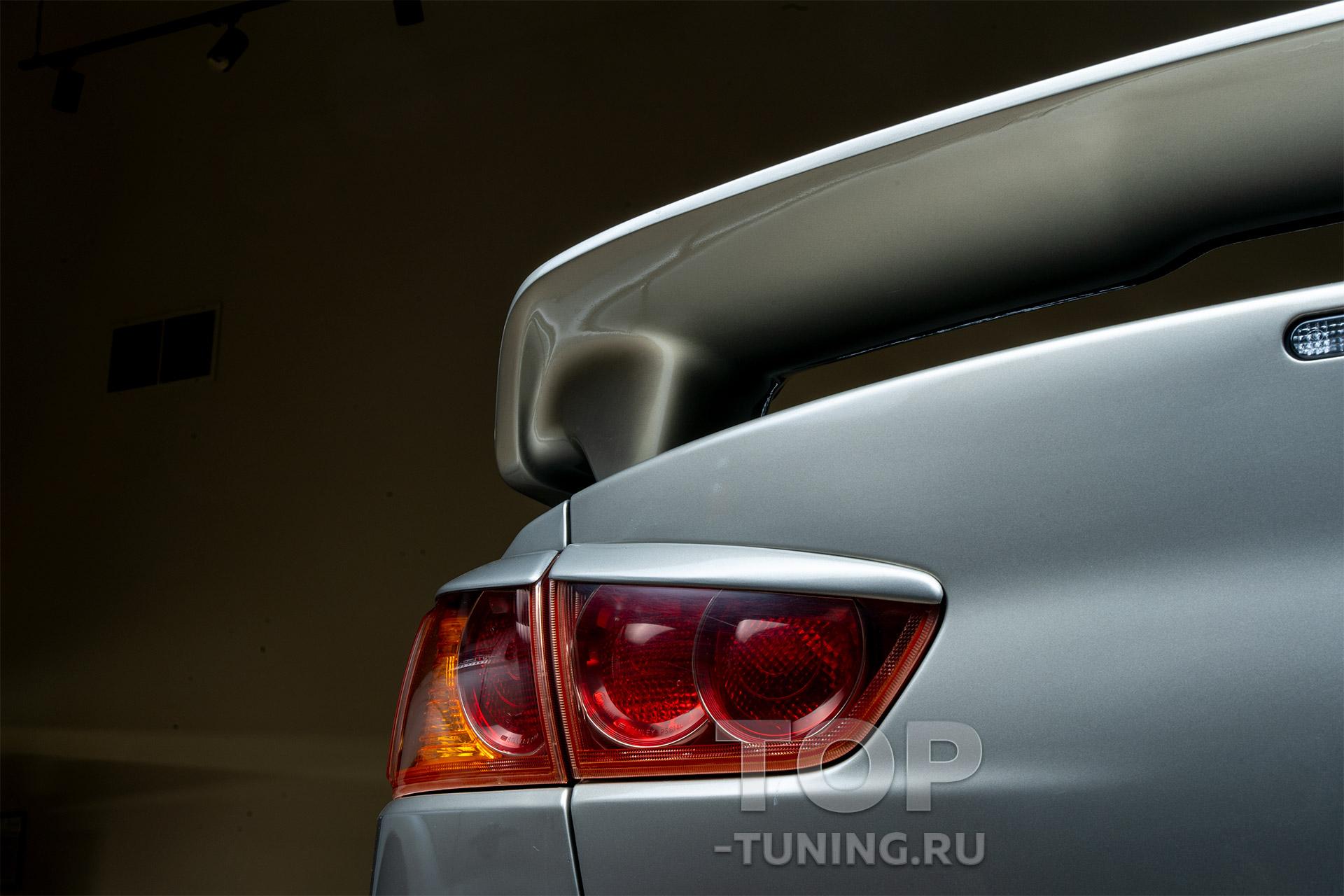 4581 Реснички на задние фонари Evo Style на Mitsubishi Lancer 10 (X)