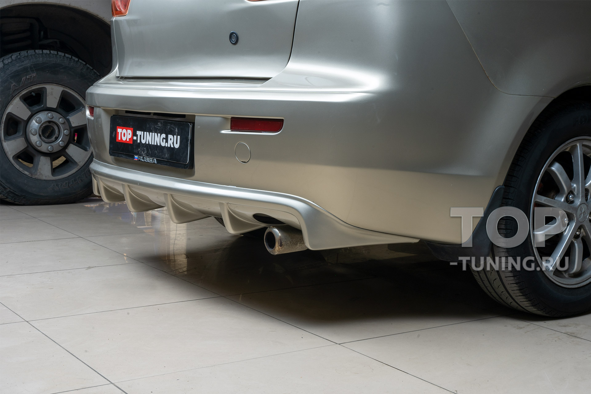 Тюнинг Мицубиси Лансер 10 – обвес 2Л Спорт (Зодиак) – Диффузор заднего бампера