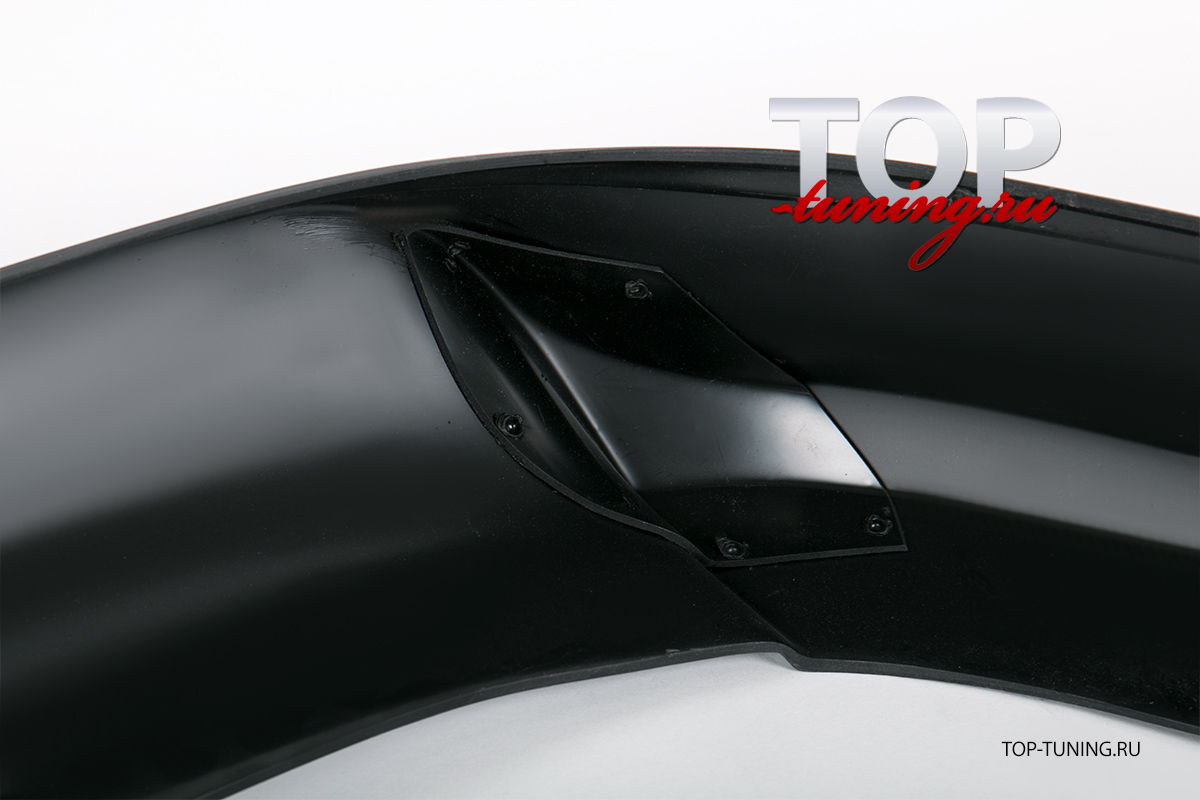 Тюнинг - Юбка на задний бампер Zodiac на Митсубиси Лансер 10 (Х)  Материал: ABS  пластик.