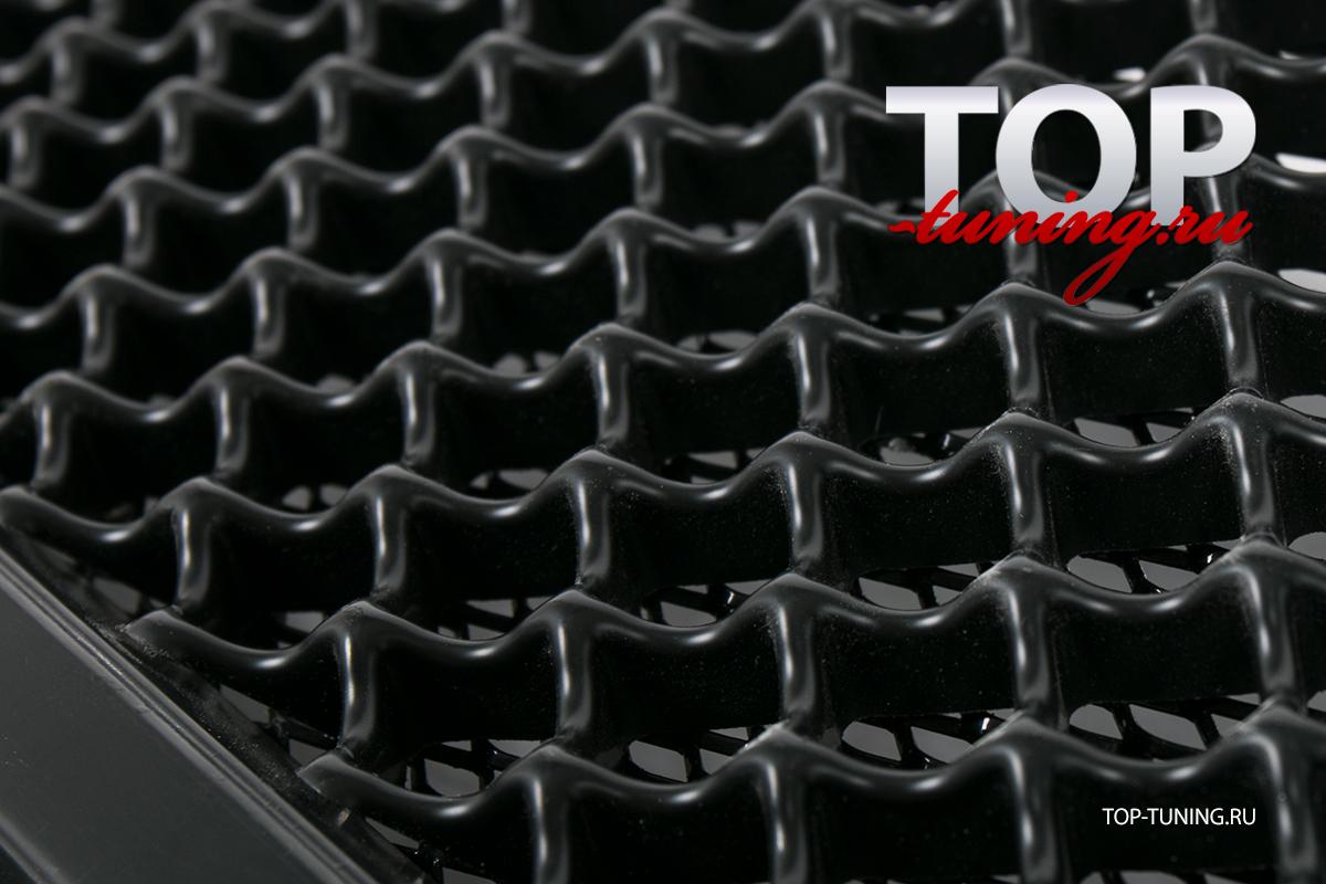 Тюнинг - Решетка в передний бампер на Рено Дастер 1 (дорестайлинг 200-2014 г.)