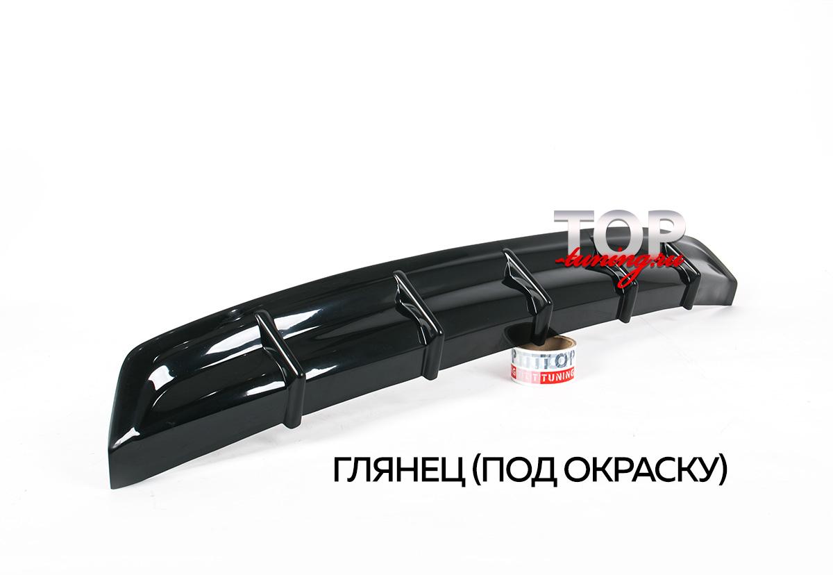 4663 Тюнинг - Диффузор на задний бампер на Toyota Corolla E160