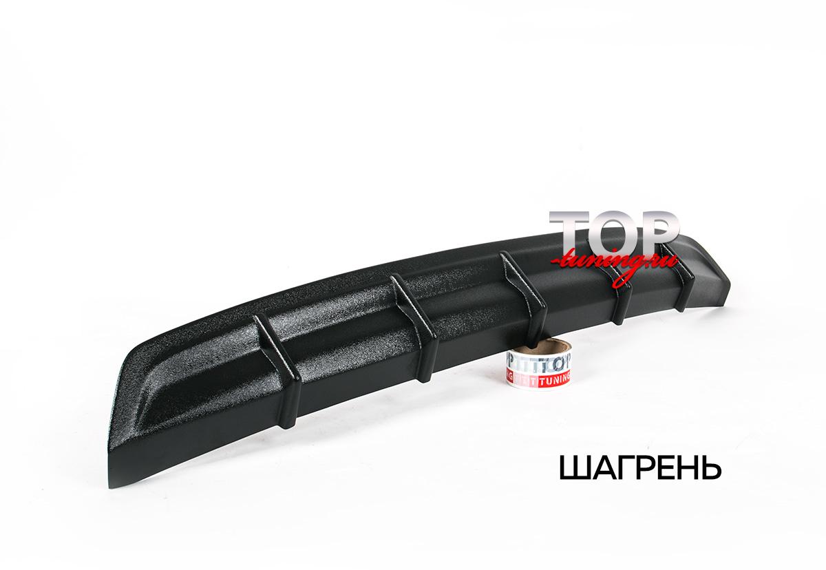 ДИФФУЗОР НА ЗАДНИЙ БАМПЕР ТРД - ТЮНИНГ ТОЙОТА КОРОЛЛА Е160 (2012+)