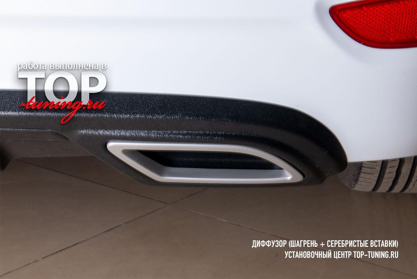 4665 Диффузор RS на задний бампер для Hyundai Solaris 1