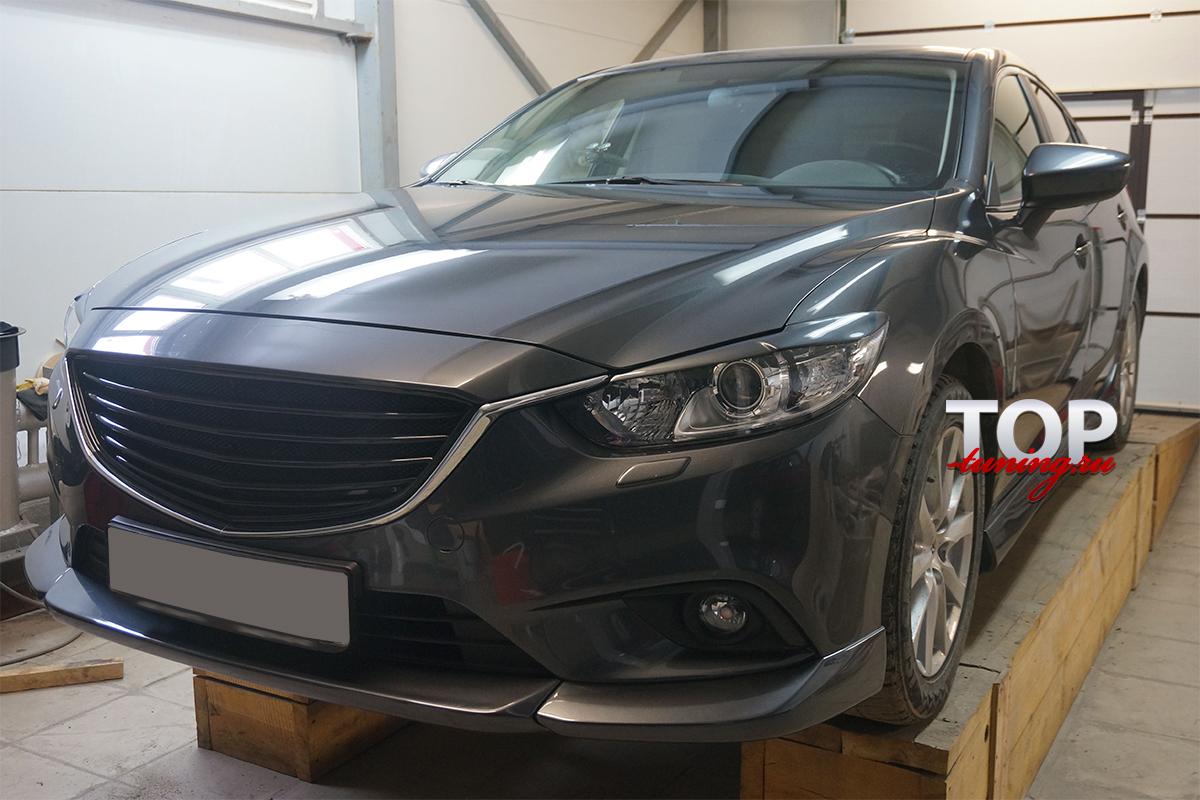 4668 Тюнинг - Реснички Rate на Mazda 6 GJ