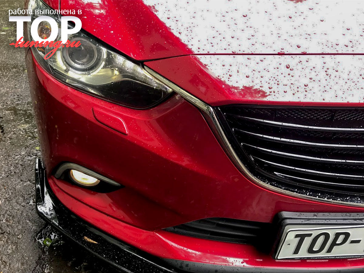 4705 Тюнинг - Решетка радиатора S-LINE на Mazda 6 GJ