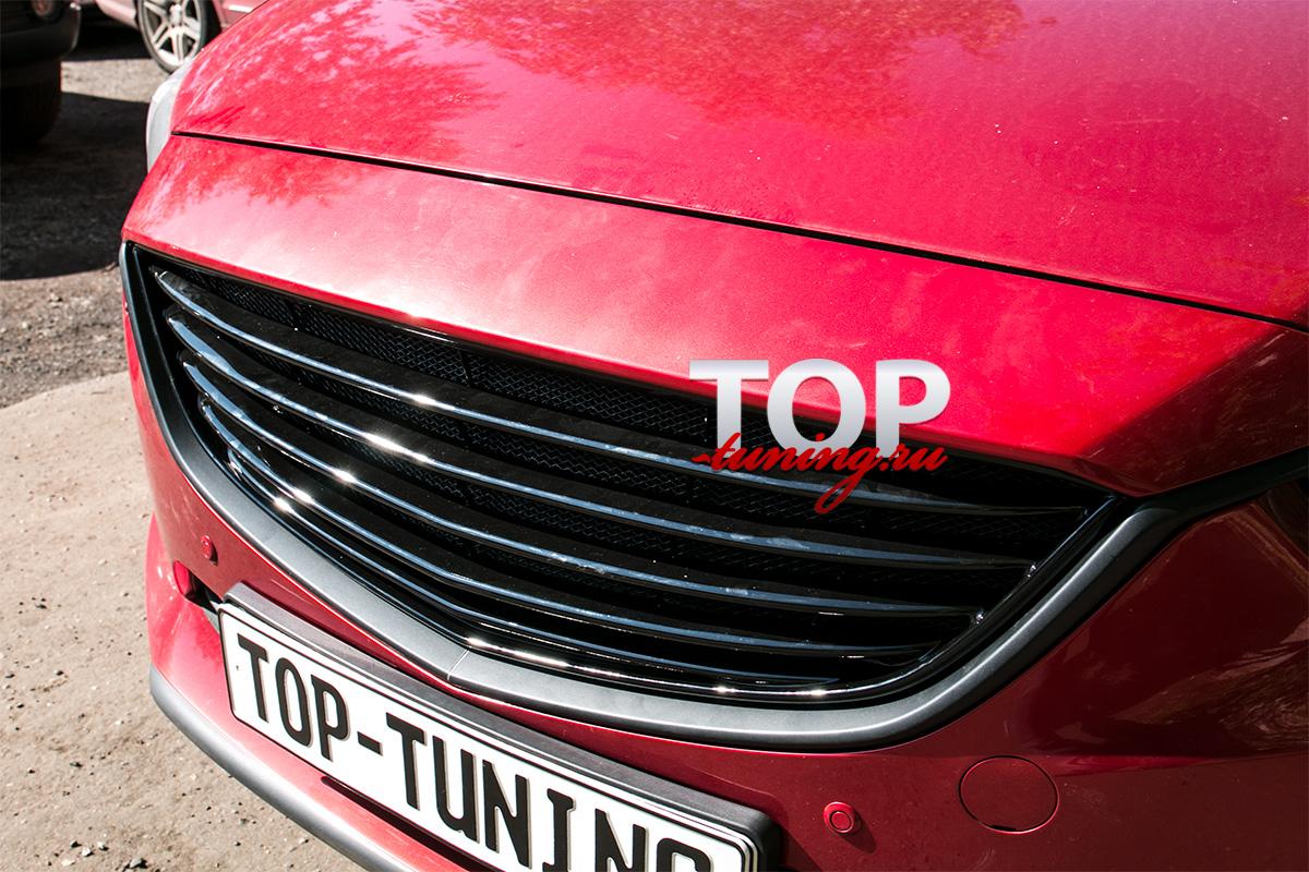 4705 Тюнинг - Решетка радиатора Sport-Style на Mazda 6 GJ