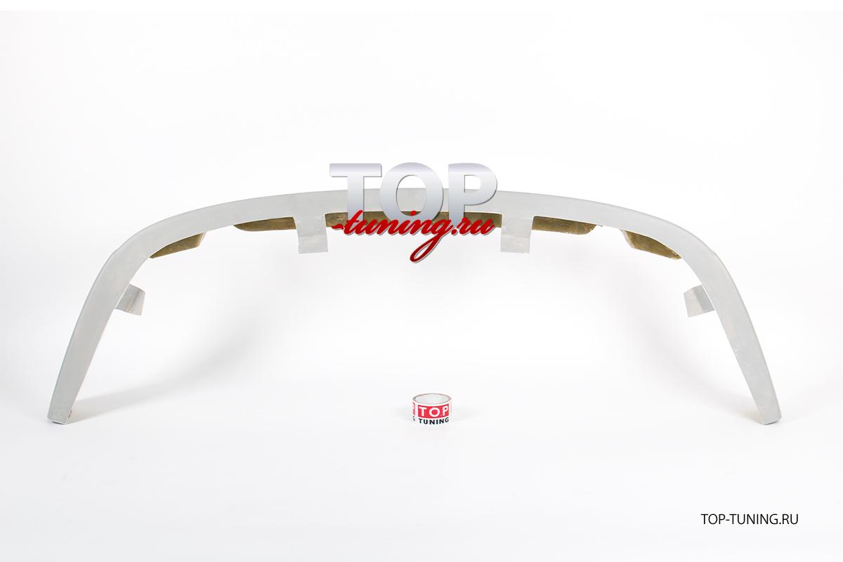 Накладка на передний бампер - обвес WTCC - Тюнинг Шевролет Лачетти (Седан)