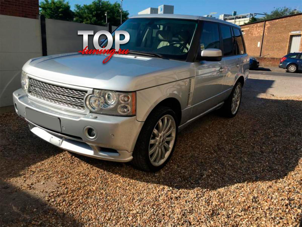 4818 Юбка переднего бампера Overfinch на Land Rover Range Rover Vogue 3