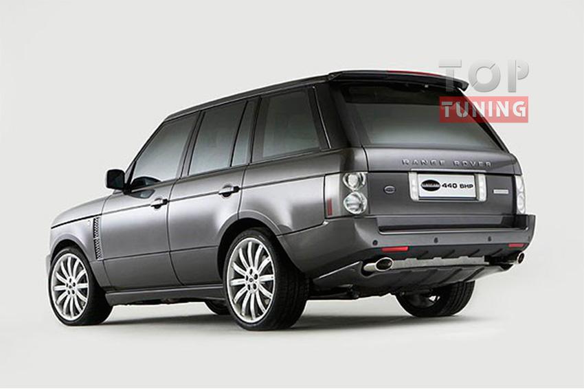 Тюнинг Range Rover Vogue - Накладка на задний бампер Overfinch
