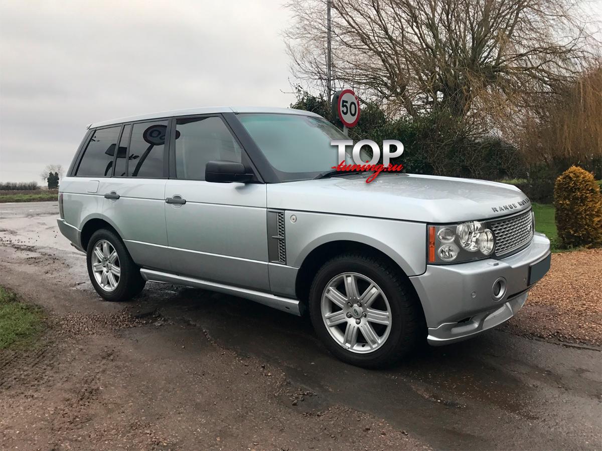 4820 Накладка на задний бампер Overfinch на Land Rover Range Rover Vogue 3