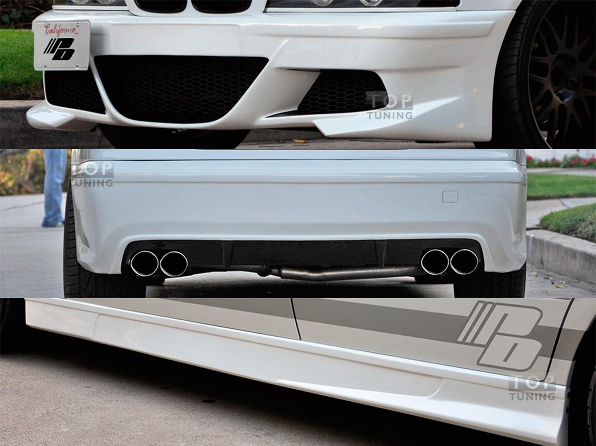 обвесы prior design для BMW e39