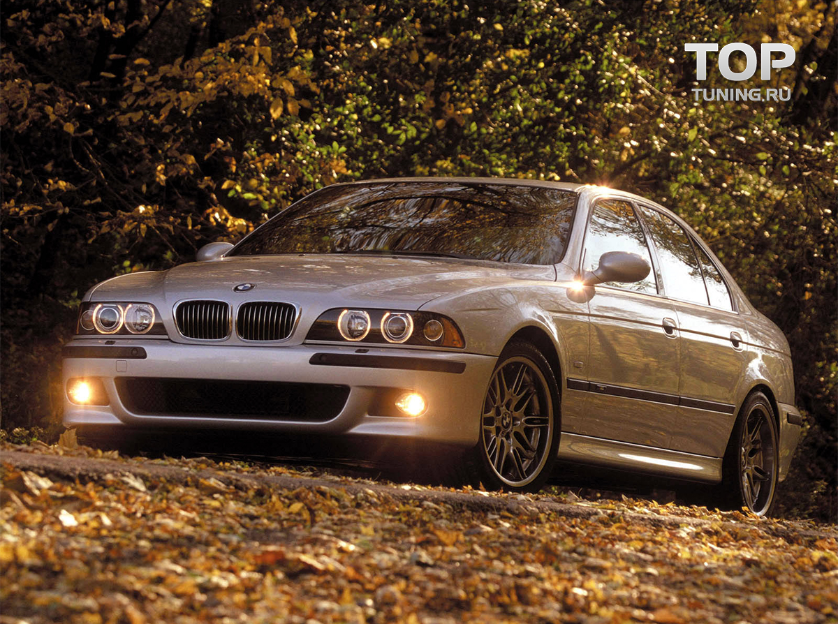 бампер м стиль на BMW e39